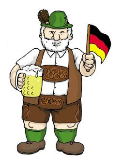The typical German - a Bavarian?